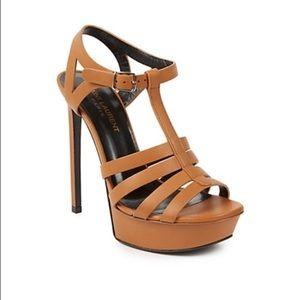 Saint Laurent Bianca T-Strap Sandals