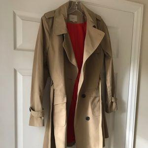 Loft trench coat size 4