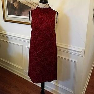 NEW KENSIE Sleeveless High Neck Dress XS