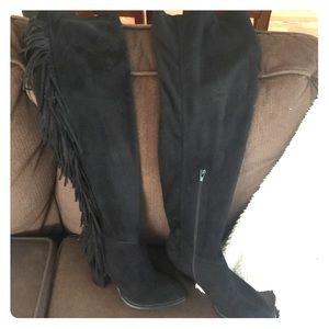 Over the knee boots NWOT