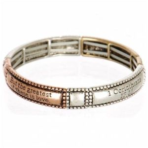 Jewelry - Stackable Stretch Bracelet Tricolor