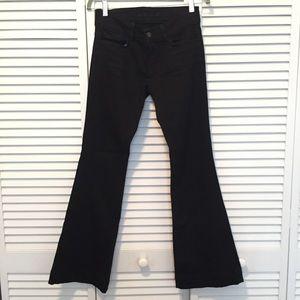 26925471b090d J Brand Jeans - J Brand love story flare bell bottom jeans in jett