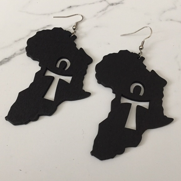 Jewelry - Africa Ankh Earrings