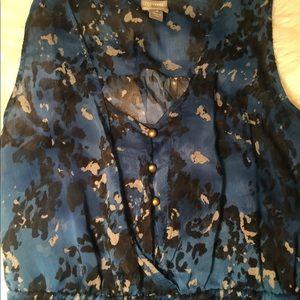 Converse blue sheer dress size medium