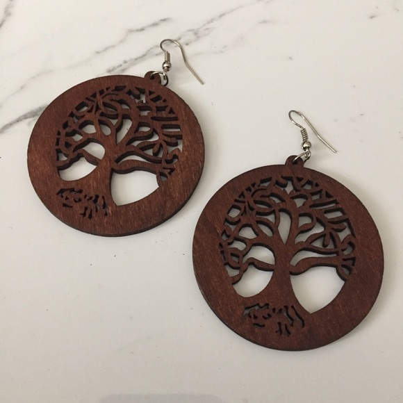 Jewelry - Tree of Life Dangle Earrings