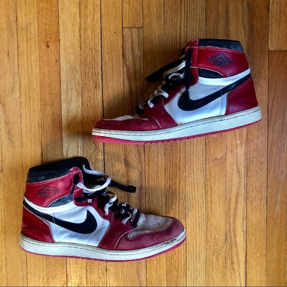 new product 6e0bf 42144 Nike Air Jordan 1 Original Size 10 1985 OG Vintage