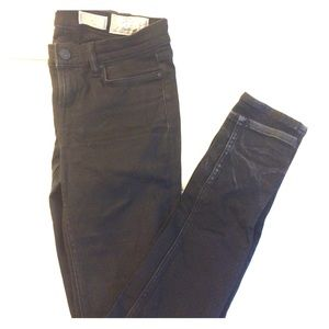 All Saints Ashby Black Skinny Jeans S26