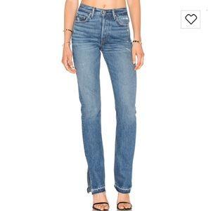 NWOT.  GRLFRND Natalia High-Rise Skinny Split Jean