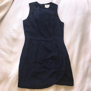Wren jacquard mini dress
