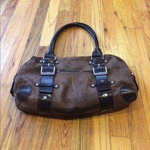 Wilson leather wrist tote bag