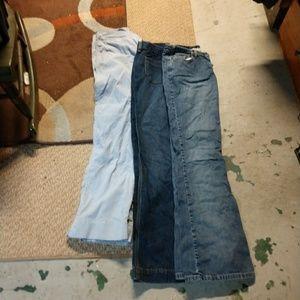 Bundle of jeans size 4
