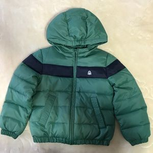 United Colors Of Benetton boys coat size 4/5