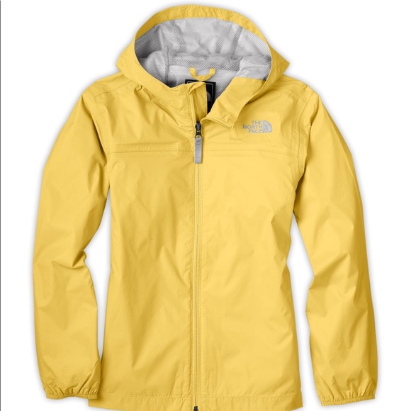 869ba2b48f40 The North Face Girls  Zipline Rain Jacket. M 5a087eb35a49d038e411994c