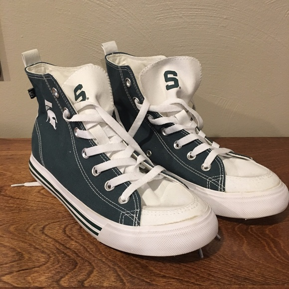 Michigan State High Top Sneakers