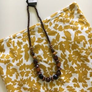 Jewelry - Wooden bauble statement necklace