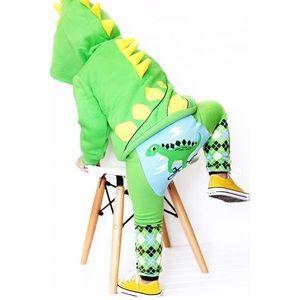 🌟HOST PICK🌟Dinosaur 3D Spike Hoodie & Leggings
