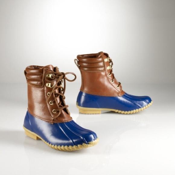 Polo Ralph Lauren Melinda Duck Boot