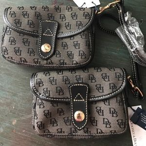 Authentic Dooney and Bourke wristlets