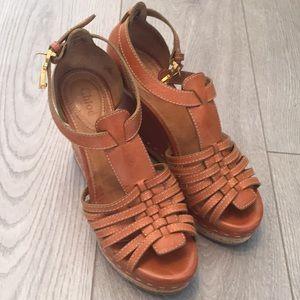 Chloe high heels shoes