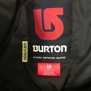 Burton Other - Girls ski bib