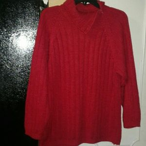 Red Pullover Sweater