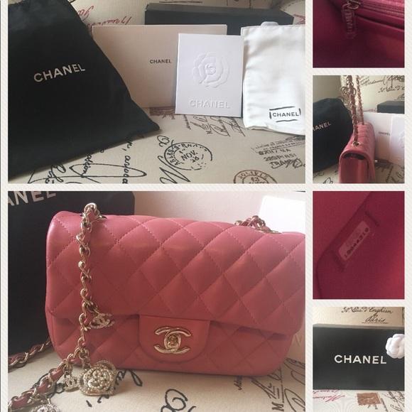 239d7a925434 CHANEL Handbags - Chanel Valentines 2014 pink mini flap bag
