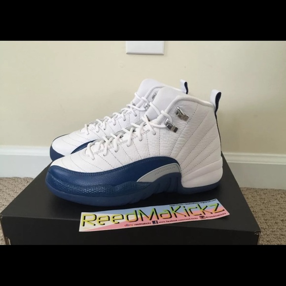 78f65e88618 Jordan Shoes | Nike Air 12 Xii Retro French Blue Gs | Poshmark