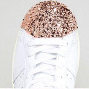adidas superstars rose kappe