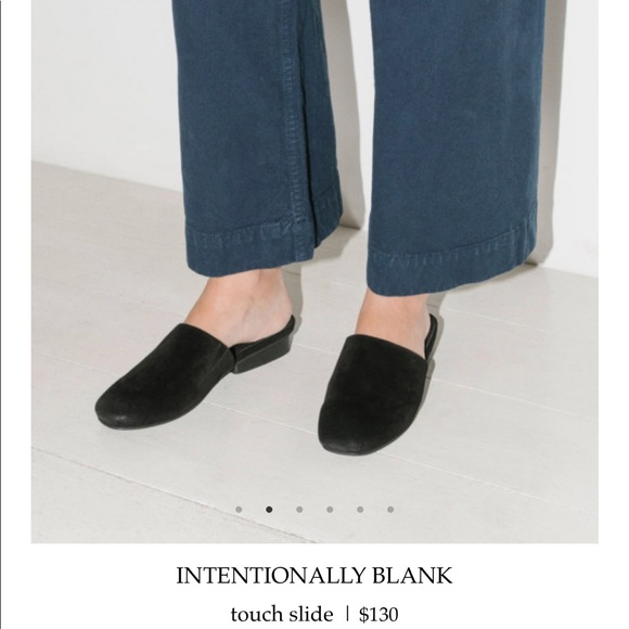 544b214002ff intentionally blank Shoes - Intentionally Blank Touch Slide Mules
