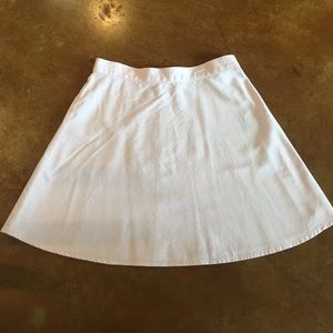American Apparel Light Pink Circle Skirt