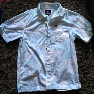 Light blue men's button down shirt