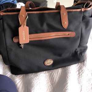 Coach baby bag never used