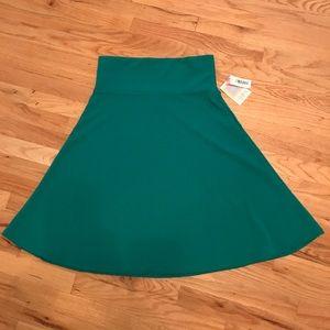 Lularoe Azure turquoise skirt