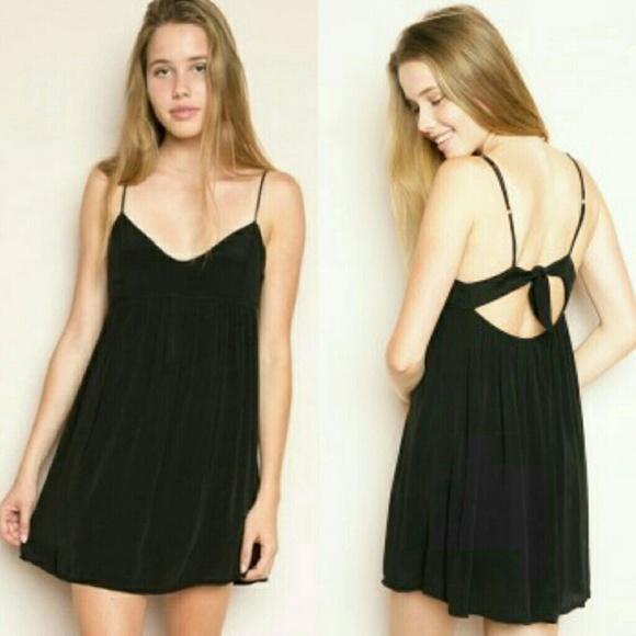 b8bb53f39e9 Brandy Melville Dresses | Rosen Black Dress | Poshmark