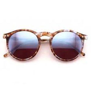Wildfox Tortoise Mirrored Round sunglasses 😎