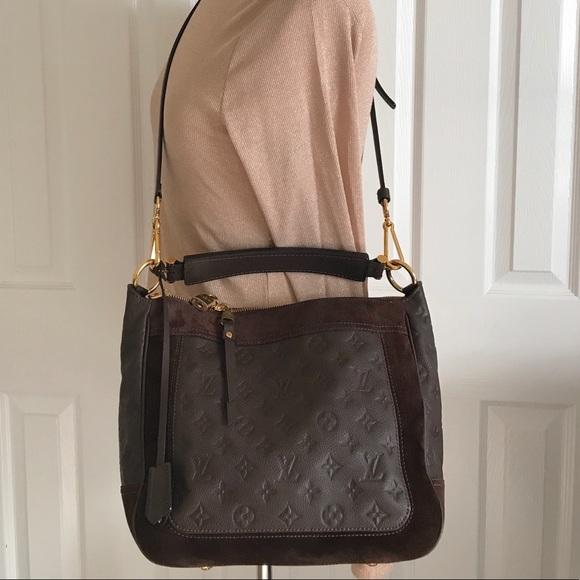 c0b65939ee3c Louis Vuitton Handbags - LV Audacieuse Monogram Empreinte Leather PM Bag