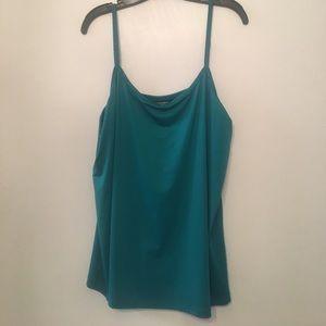 Turquoise camisole
