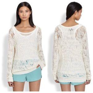 Rag & Bone Kaitlyn Open Knit Sweater