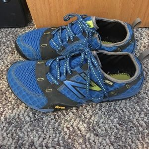 New Balance Minimus trail shoes with goretex
