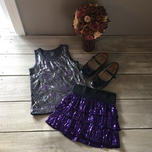 The Children's Place Sequin 2-piece Outfit, size 4