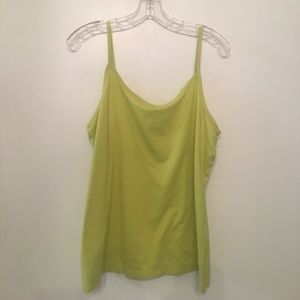Green camisole