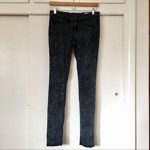RAG & BONE/ acid wash legging jeans