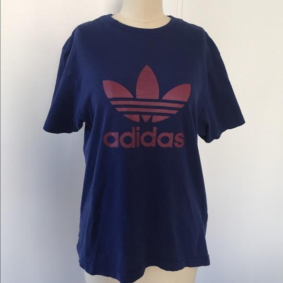 vintage adidas t shirt women's