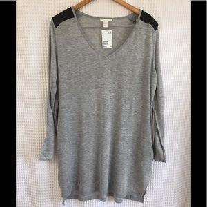 Lightweight long sweater