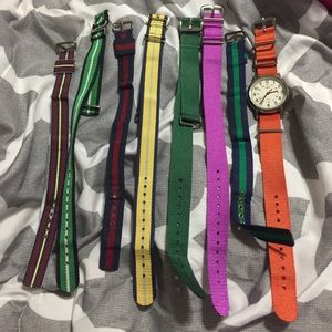 Times watch with 8 bands