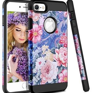 Accessories - iPhone 7/8 flower pattern protective case
