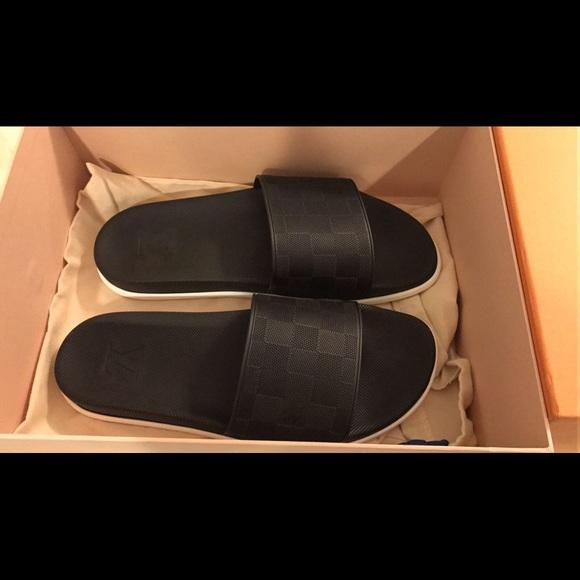 4eff7586849d5 Louis Vuitton Shoes | Damier Sold Out Waterfront Mule | Poshmark