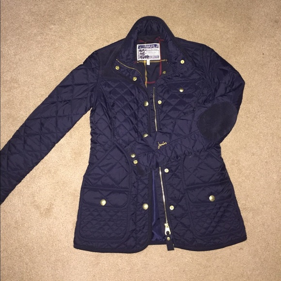 Joules Jackets Coats Calverly Quilted Jacket Navy Size 2 Us