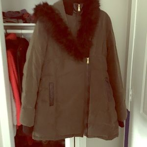 Euc L express coat