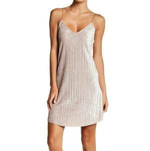 NWT velvet slip dress